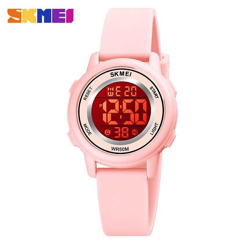 Jam Tangan Anak LED SKMEI DG1721 Pink