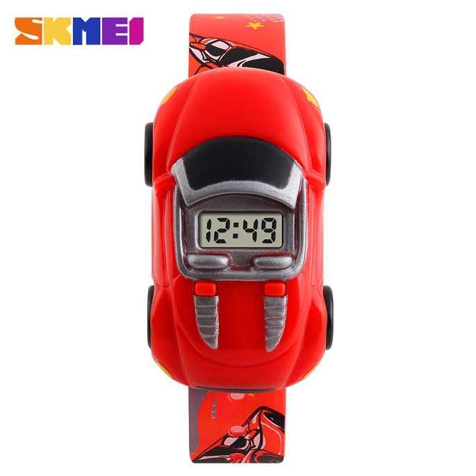 Jam Tangan Anak SKMEI Children Sport LED Watch DG1241 Merah