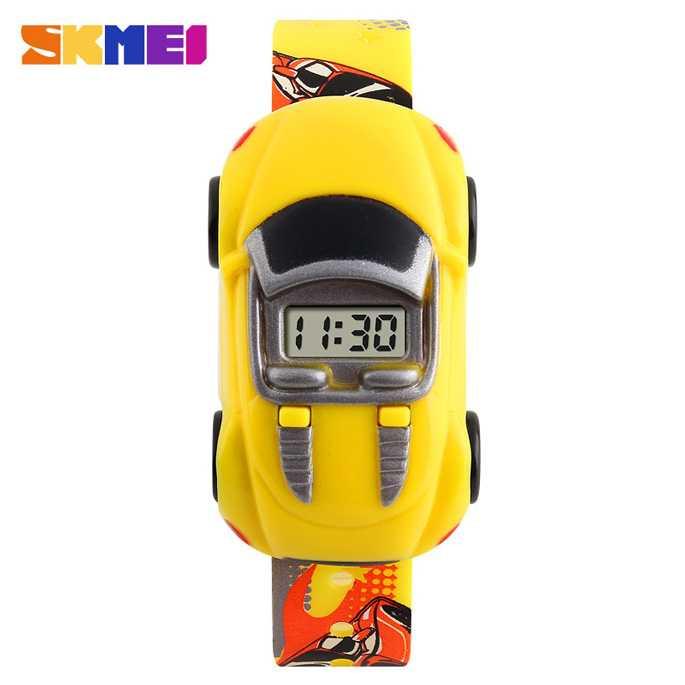 Jam Tangan Anak SKMEI Children Sport LED Watch DG1241 Kuning