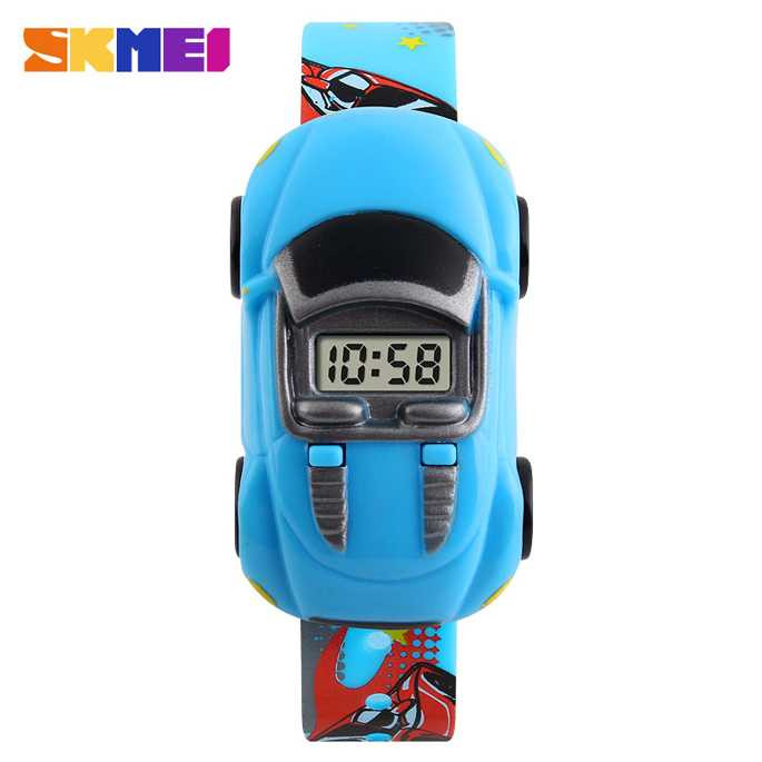 Jam Tangan Anak SKMEI Children Sport LED Watch DG1241 Biru