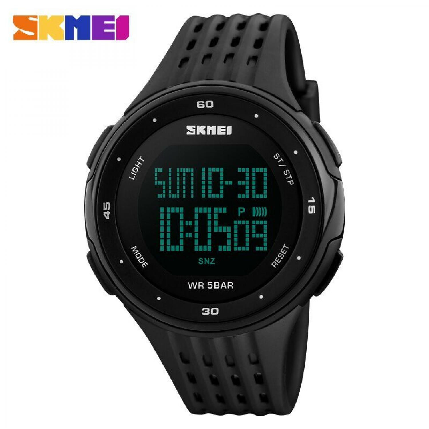 Jam Tangan Pria Digital SKMEI Sport LED Watch Original DG1219