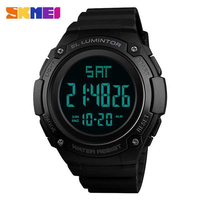 Jam Tangan Pria Digital SKMEI Sport LED Watch Original DG1346