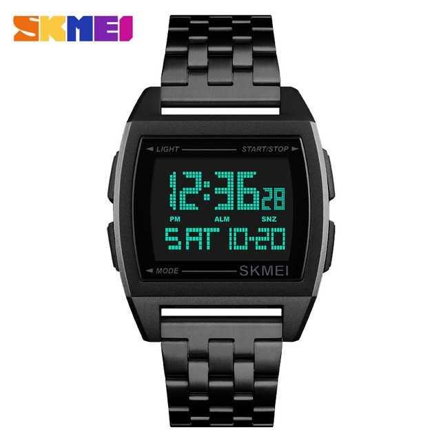 Jam Tangan Pria Digital SKMEI Sport LED Watch Original DG1368