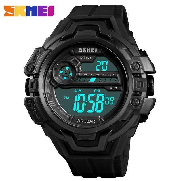 Jam Tangan Pria Digital SKMEI Sport LED Watch Original DG1383
