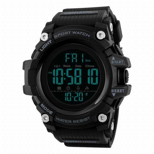 Jam Tangan Pria Digital SKMEI Sport LED Watch Original DG1384