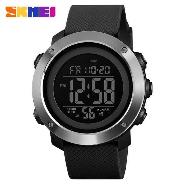Jam Tangan Pria Digital SKMEI Sport LED Watch Original DG1416