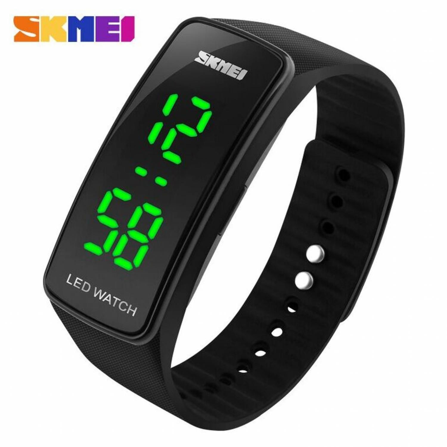 Jam Tangan Pria SKMEI Digital Sport Rubber LED Original 1119