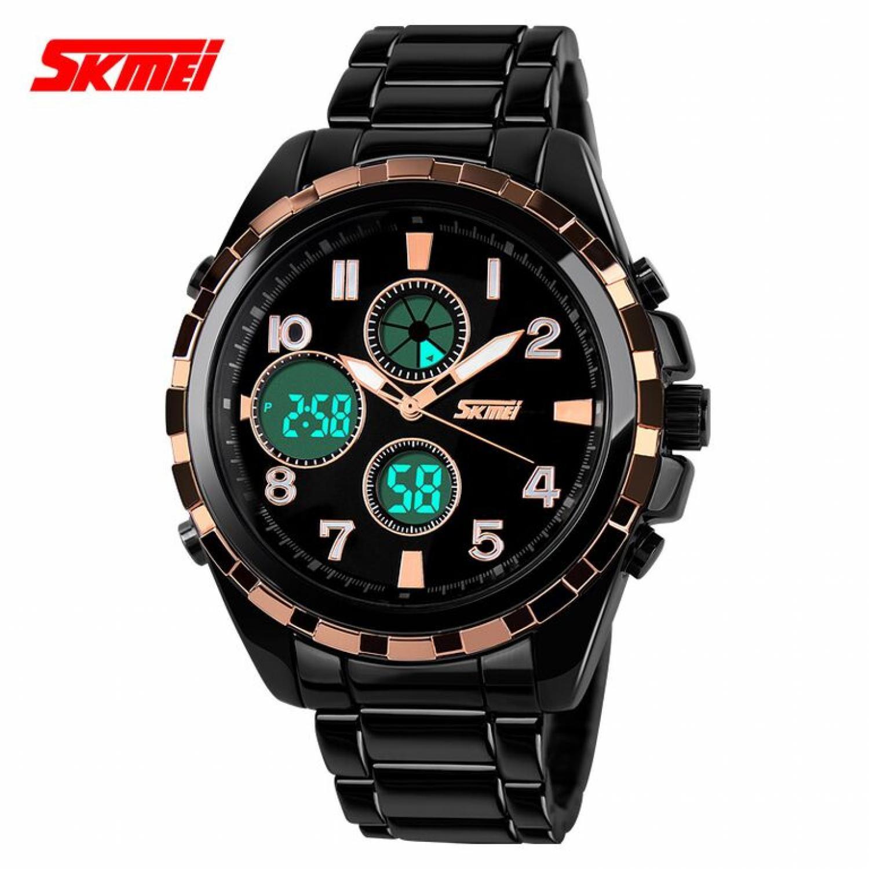 Jam Tangan Pria SKMEI Casio Men Sport LED Original AD1021