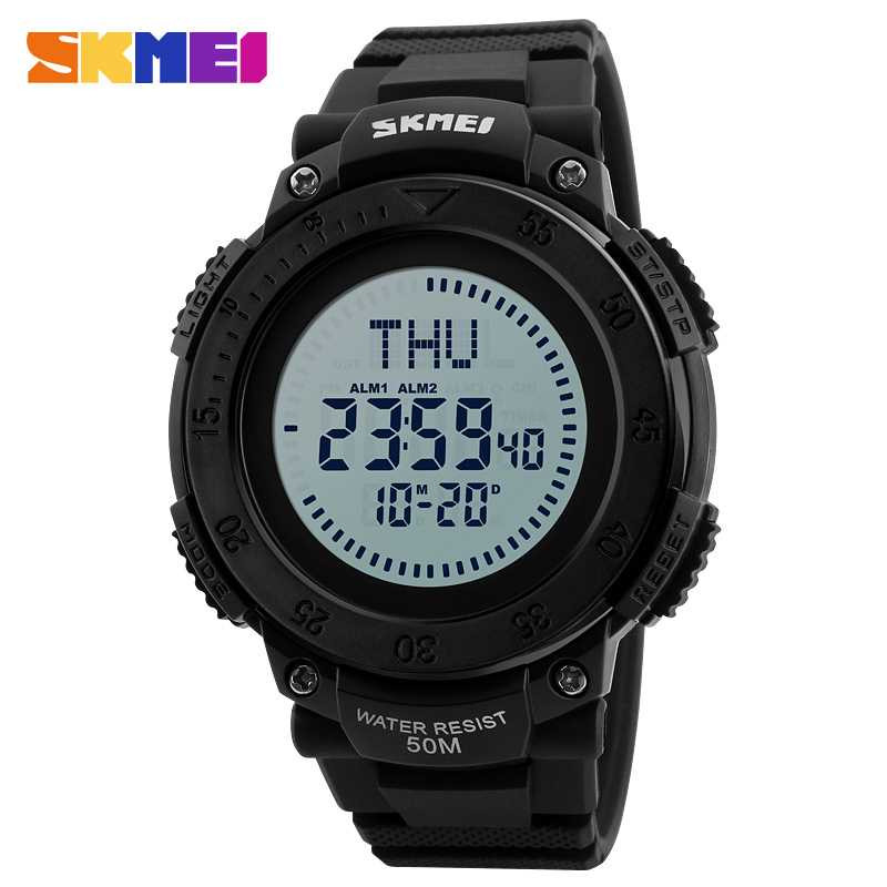 Jam Tangan Pria SKMEI Digital Casual Men Watch Original DG1236