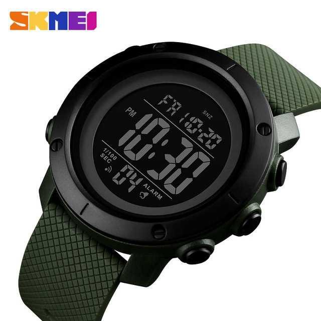 Jam Tangan Pria SKMEI Digital Casual Men Watch Original DG1426 Army