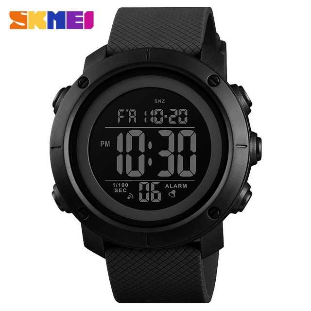 Jam Tangan Pria SKMEI Digital Casual Men Watch Original DG1434 Hitam