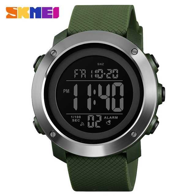 Jam Tangan Pria SKMEI Digital Casual Men Watch Original DG1435 Hijau