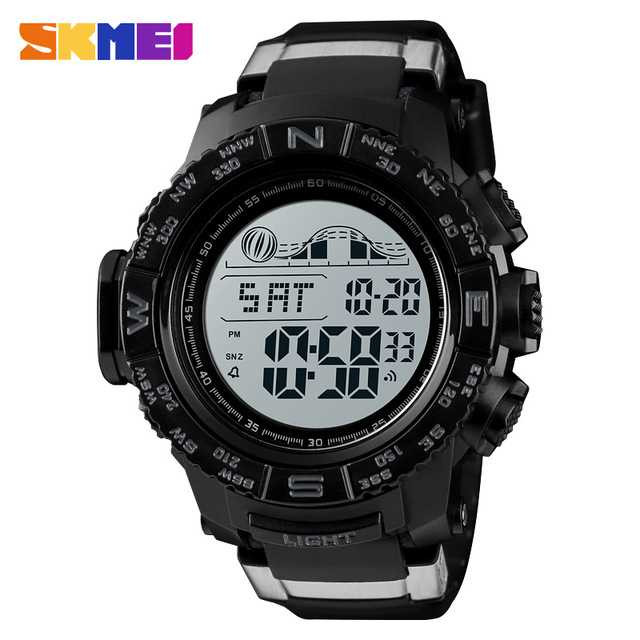 Jam Tangan Pria SKMEI Digital Casual Sport LED Original DG1380