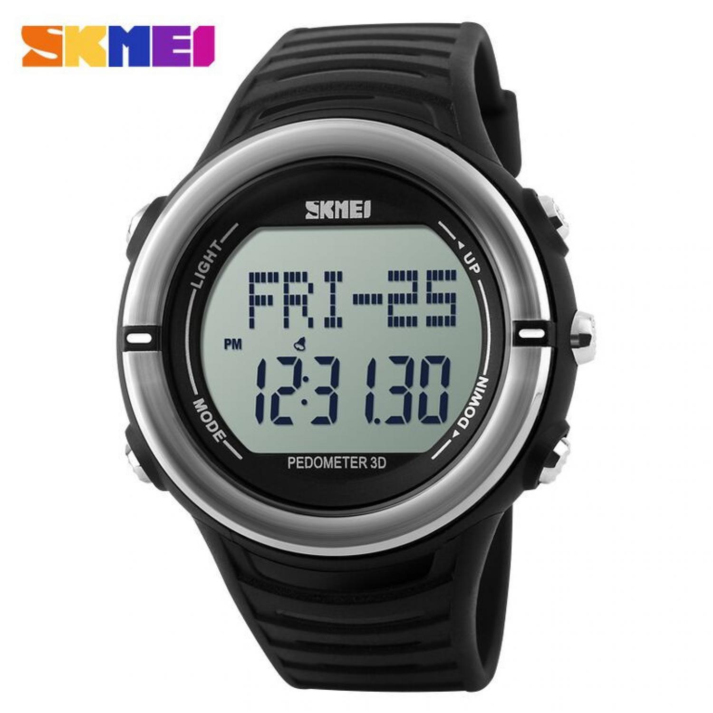Jam Tangan Pria SKMEI Digital Pedometer Heart Rate Original DG1111HR