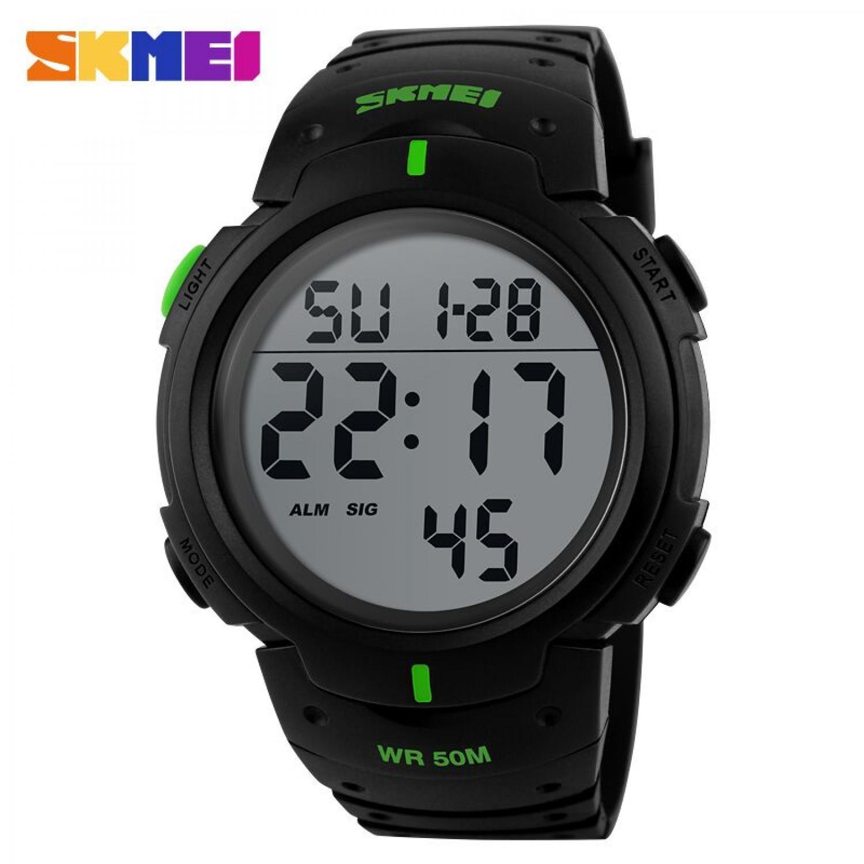 Jam Tangan Pria SKMEI Digital Pioneer Sport Watch Original DG1068 Hijau
