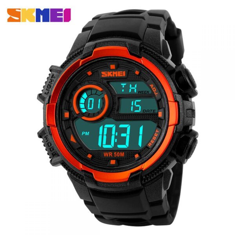 Jam Tangan Pria SKMEI Digital S-Shock Sport Watch Original DG1113 Merah
