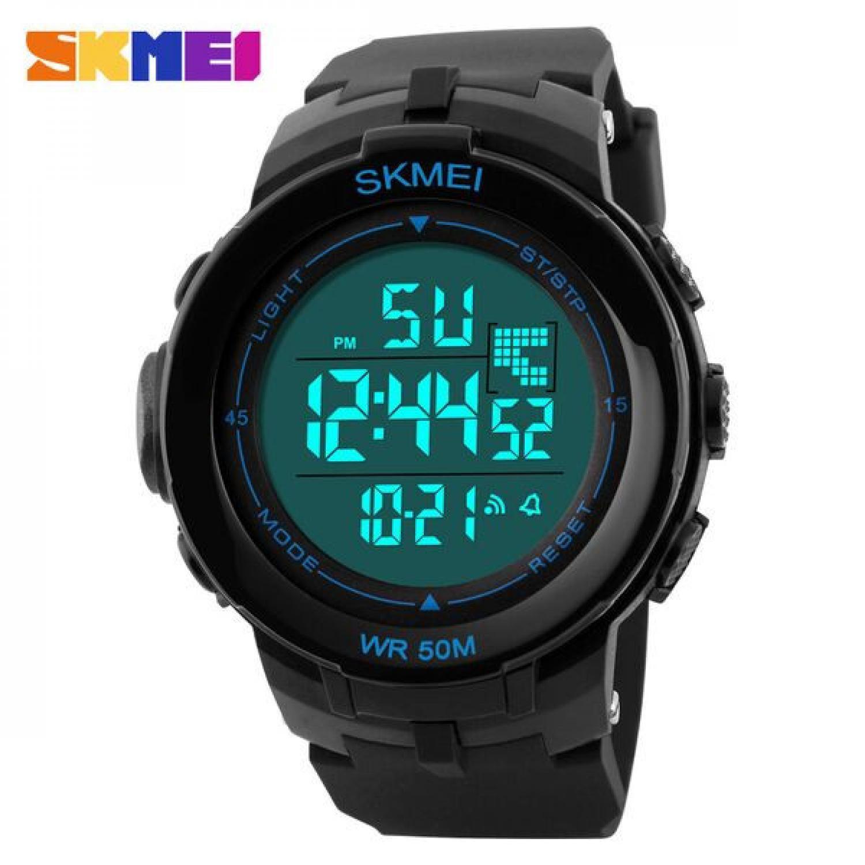 Jam Tangan Pria SKMEI Digital S-Shock Sport Watch Original DG1127 Biru