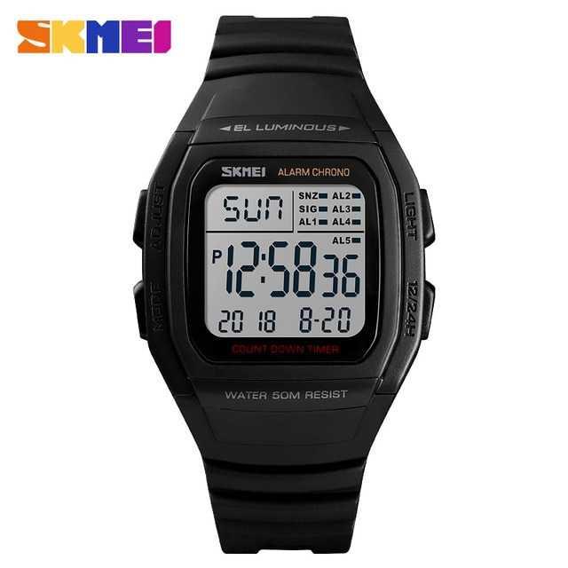 Jam Tangan Pria SKMEI Digital S-Shock Sport Watch Original DG1278