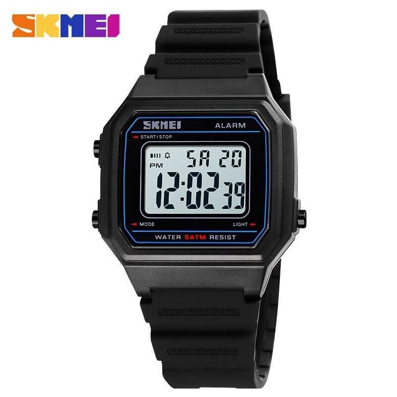 Jam Tangan Pria SKMEI Digital S-Shock Sport Watch Original DG1698