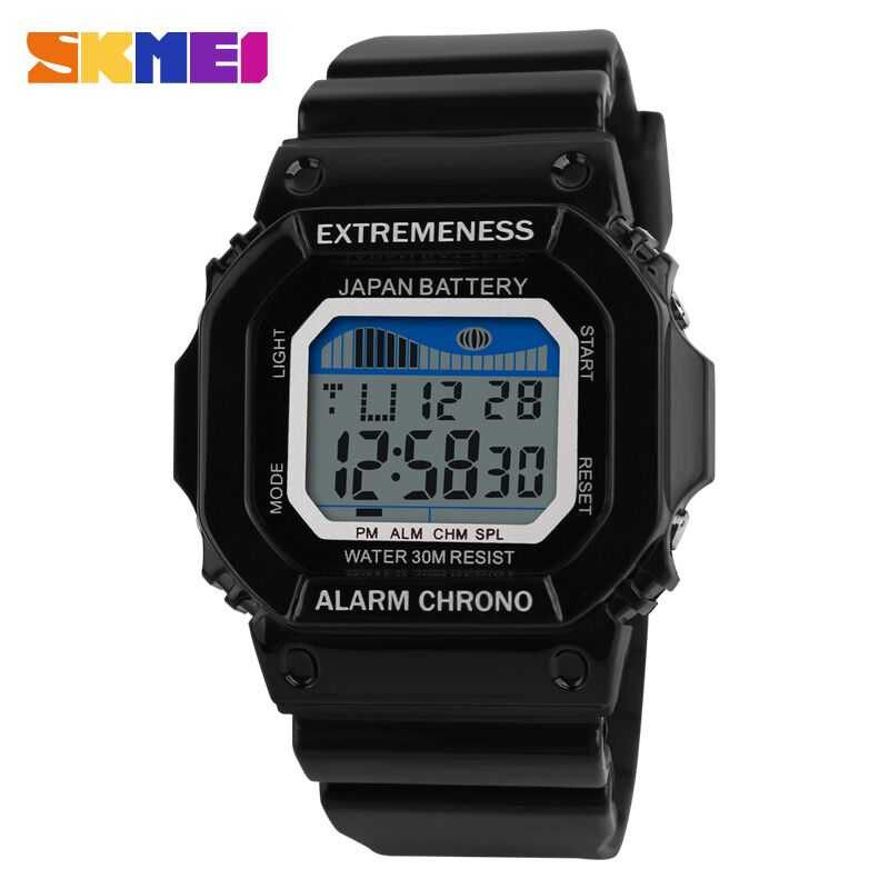 Jam Tangan Pria SKMEI Digital S-Shock Sport Watch Original DG6918
