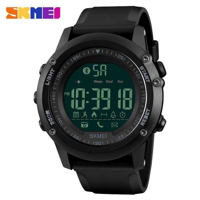 Jam Tangan Pria SKMEI Digital Smart Watch Bluetooth Original 1321