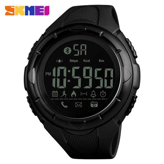 Jam Tangan Pria SKMEI Digital Smart Watch Bluetooth Original 1326
