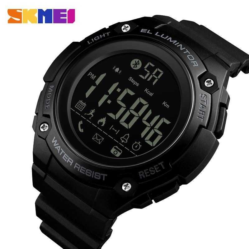 Jam Tangan Pria SKMEI Digital Smart Watch Bluetooth Original 1347
