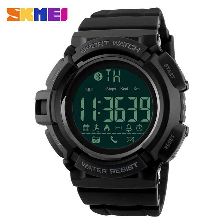 Jam Tangan Pria SKMEI Digital Smart Watch Bluetooth Original DG1245
