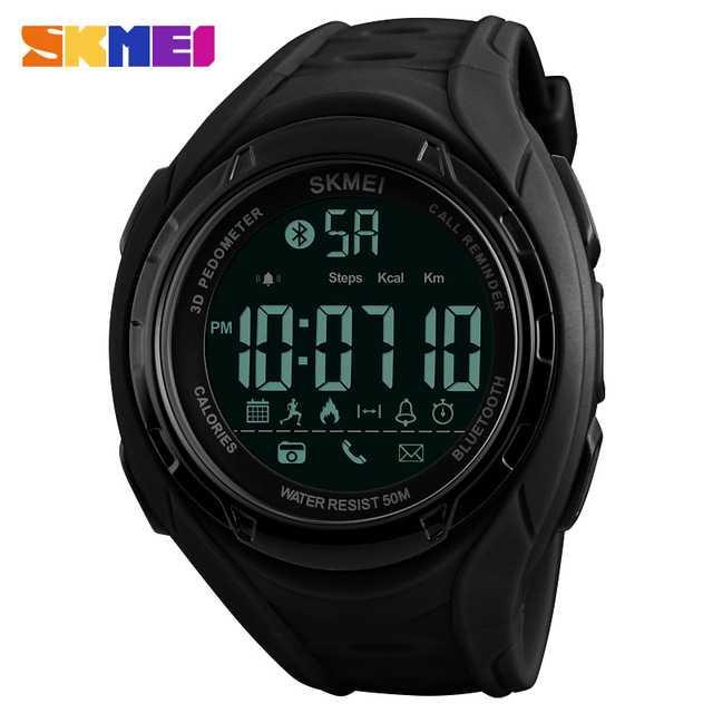 Jam Tangan Pria SKMEI Digital Smart Watch Bluetooth Original DG1316