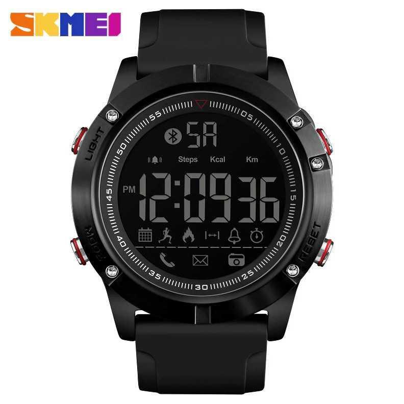 Jam Tangan Pria SKMEI Digital Smart Watch Bluetooth Original DG1425