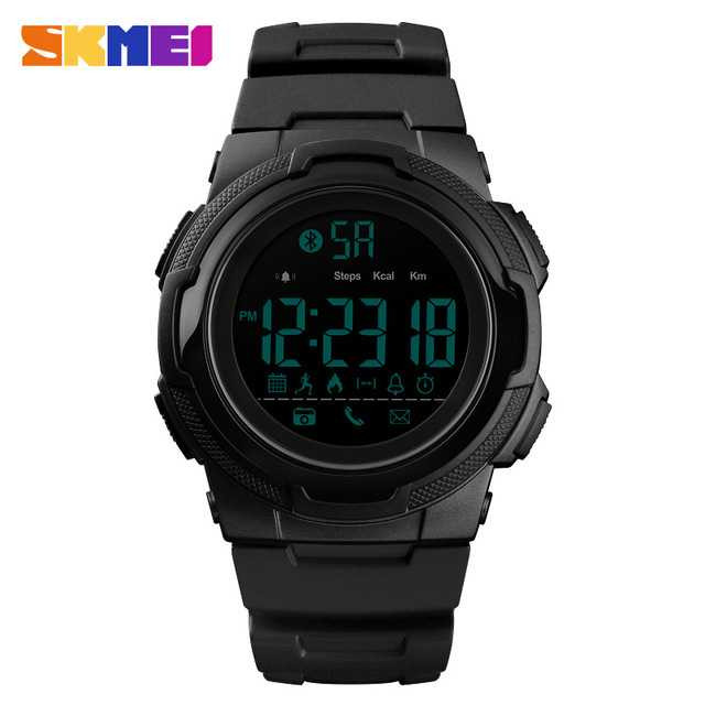 Jam Tangan Pria SKMEI Digital Smart Watch Bluetooth Original DG1440
