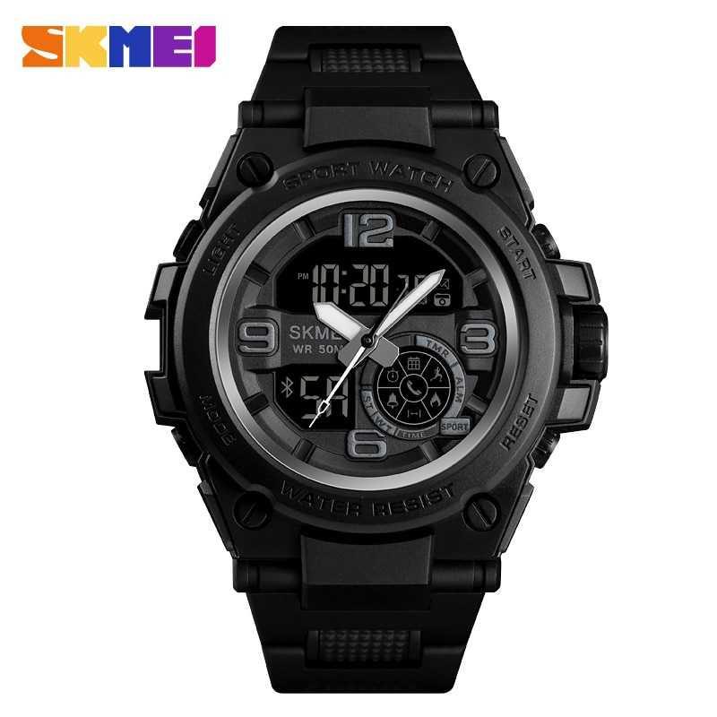 Jam Tangan Pria SKMEI Digital Smart Watch Bluetooth Original DG1517