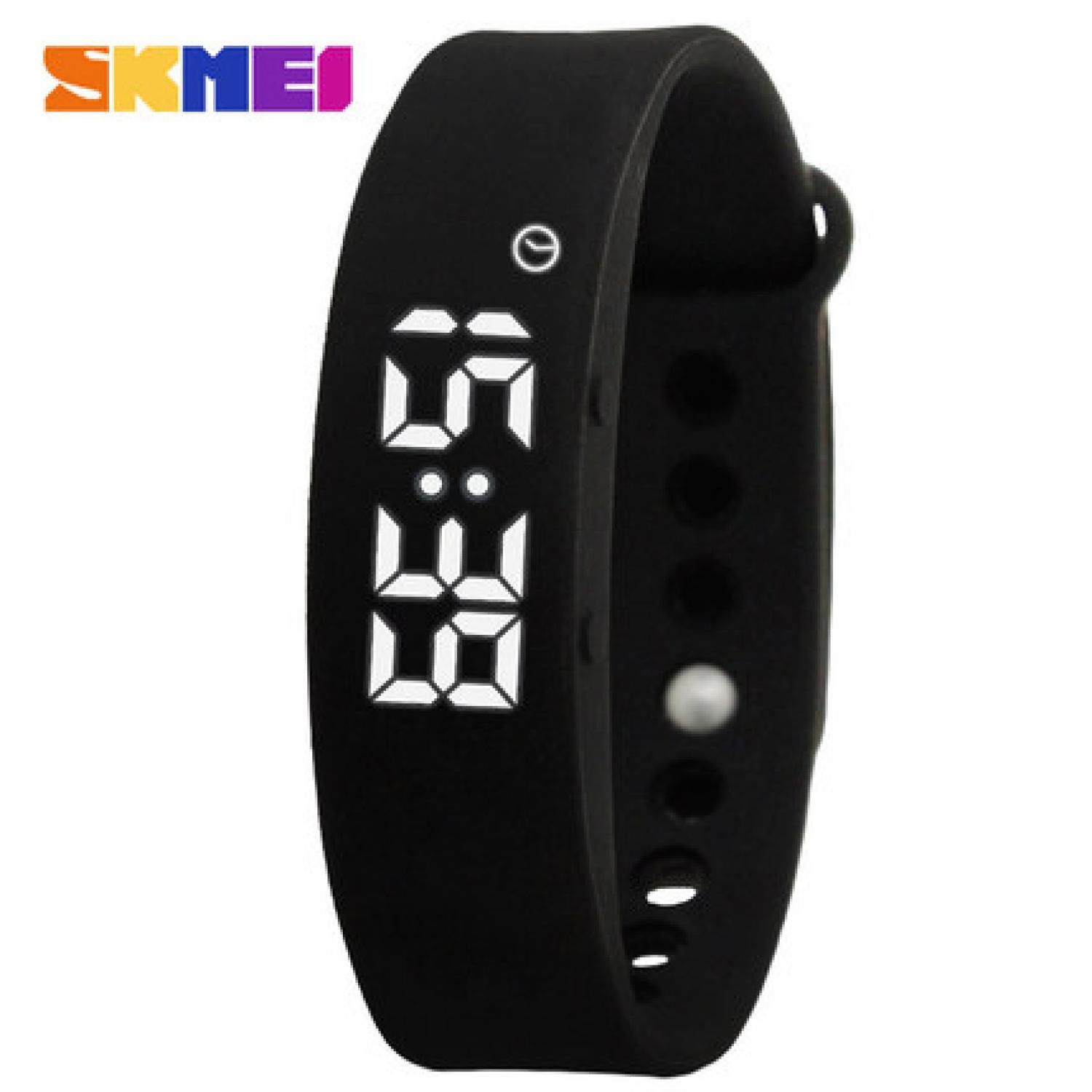 Jam Tangan Pria SKMEI Digital Sport LED Fitness Tracker W05