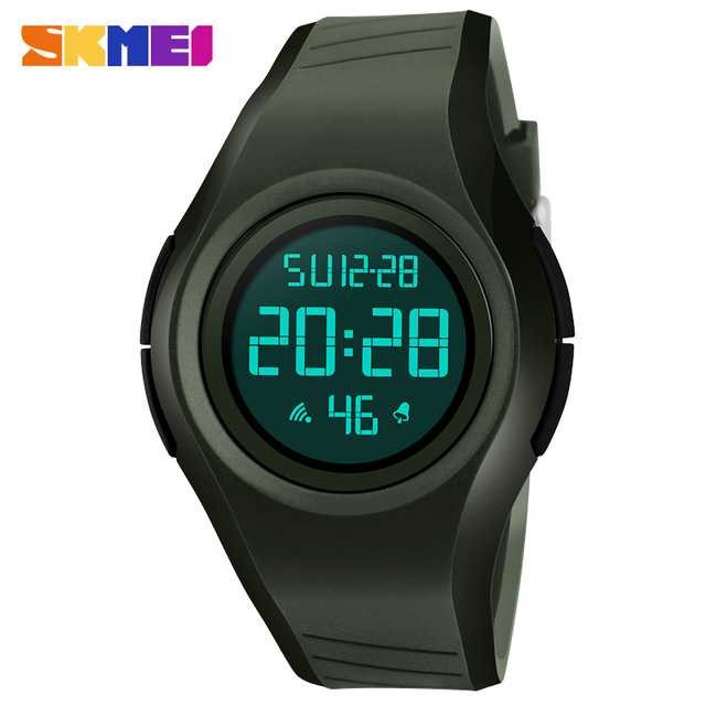 Jam Tangan Pria SKMEI Digital Sport LED Original 1269 Army