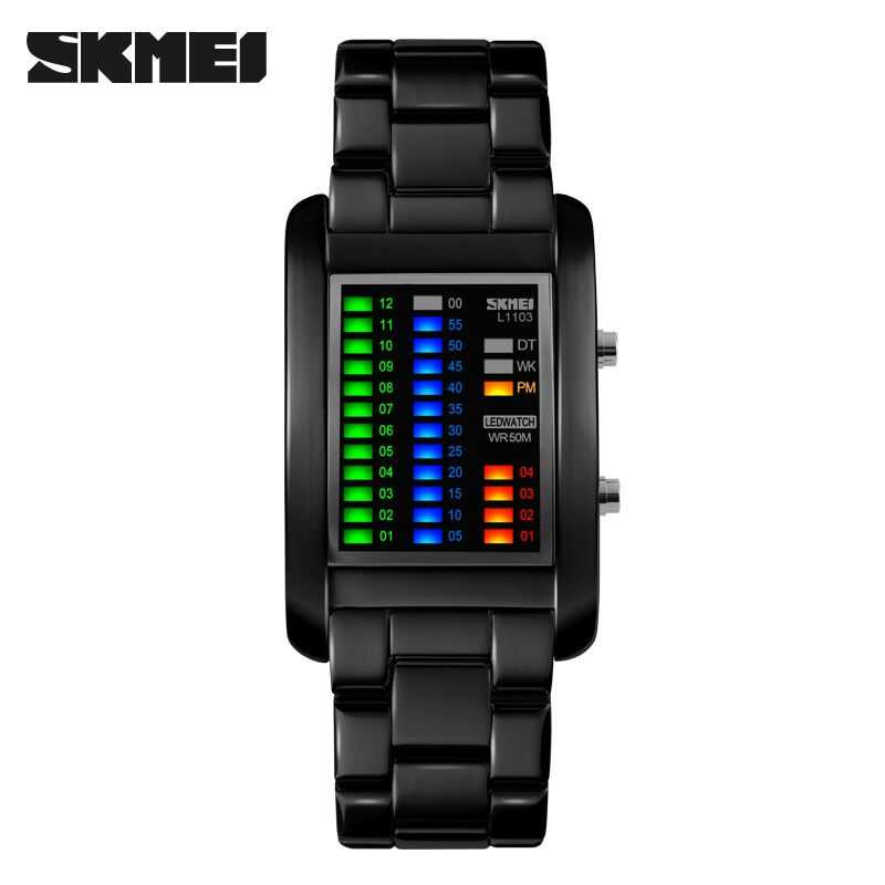 Jam Tangan Pria SKMEI Digital Sport LED Watch Original 1103A