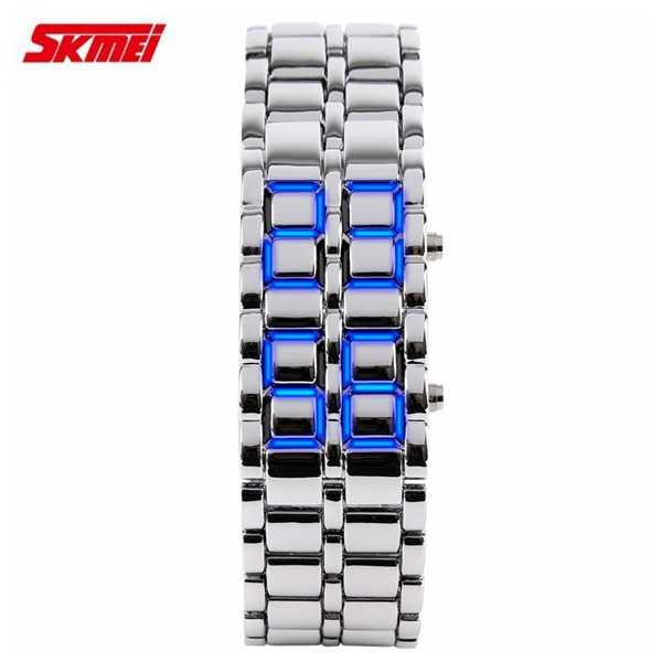 Jam Tangan Pria SKMEI Digital Sport LED Watch Original 8061G