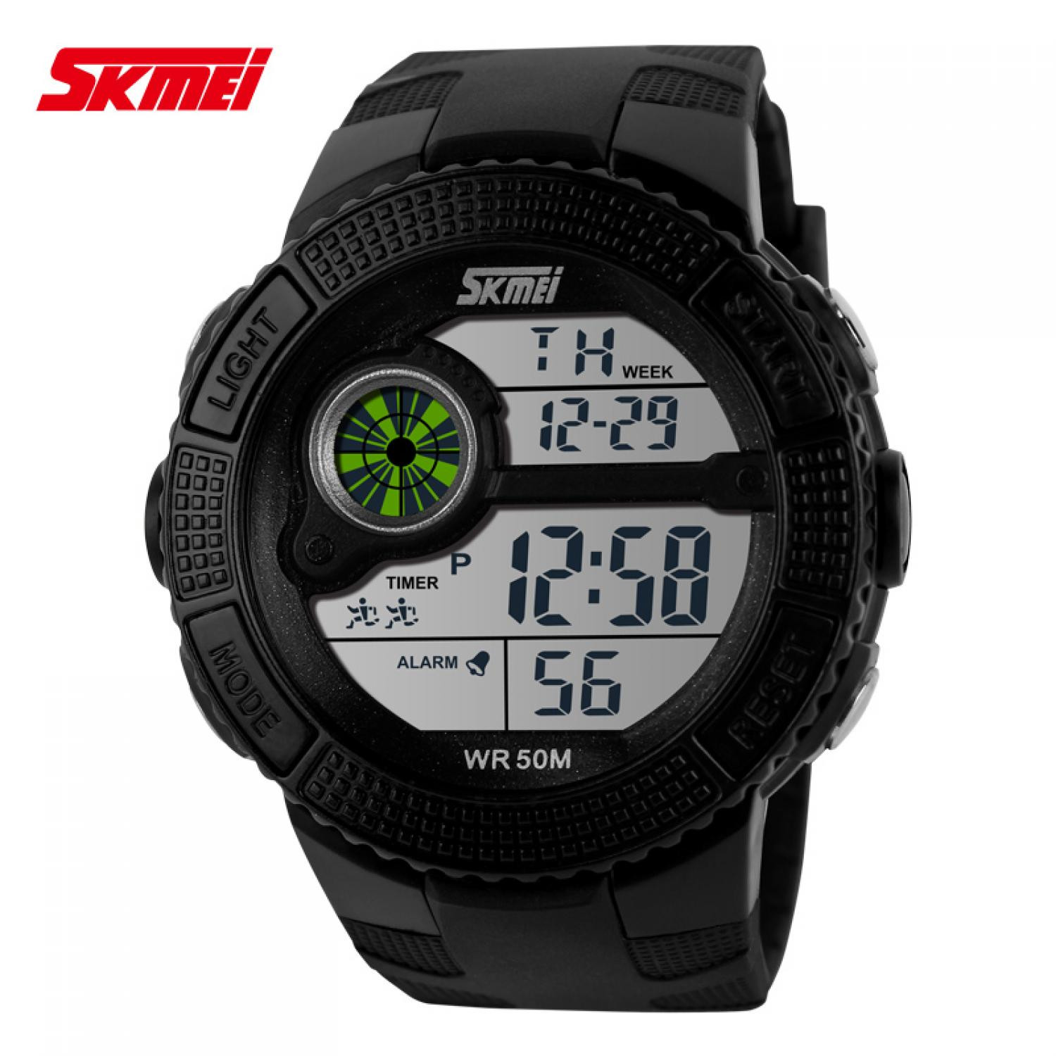 Jam Tangan Pria SKMEI Digital Sport LED Watch Original DG1027