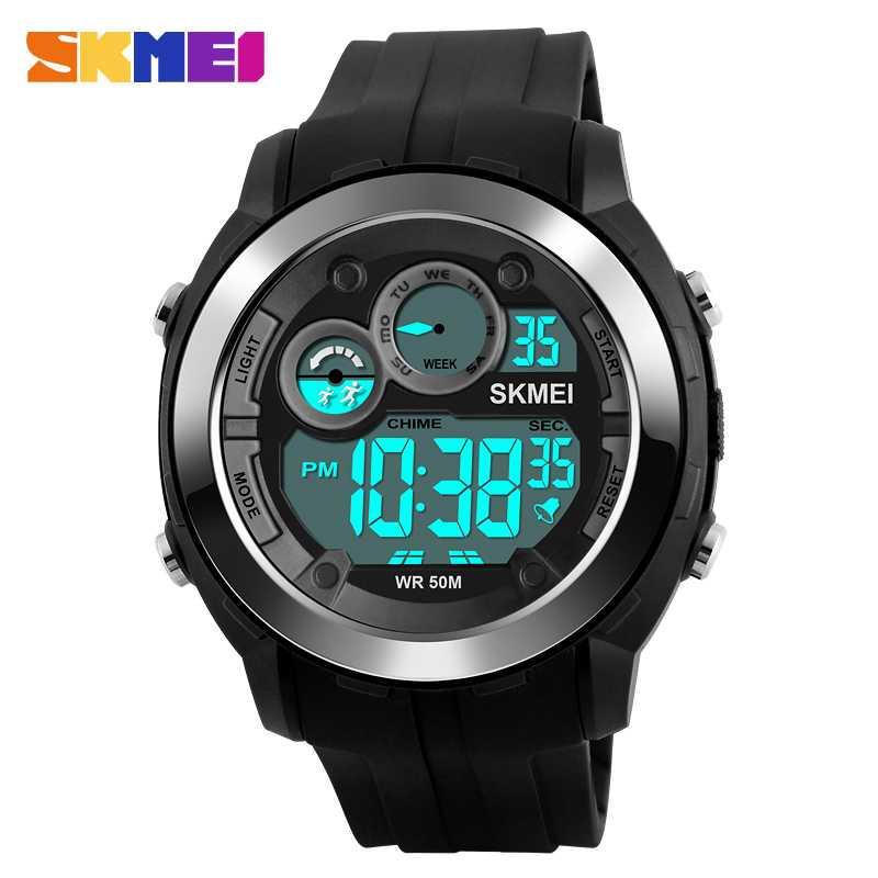Jam Tangan Pria SKMEI Digital Sport LED Watch Original DG1234