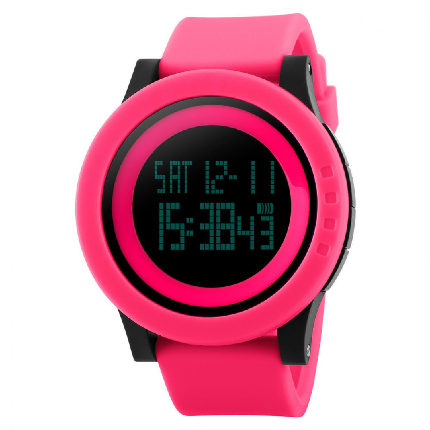 Jam Tangan Pria SKMEI Digital Sport Watch Original DG1142 Pink