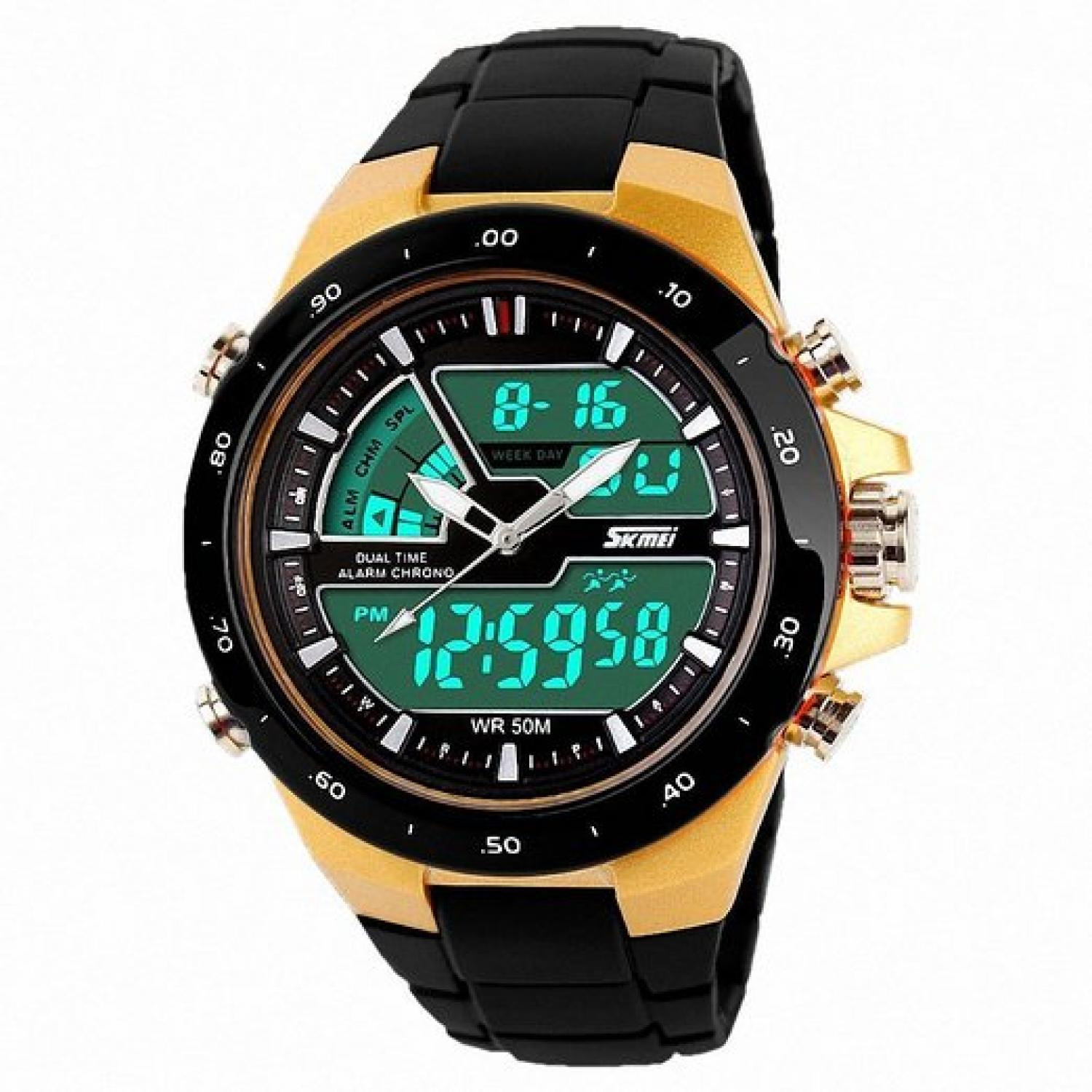 92274526a4f Jam Tangan Pria SKMEI Dual Time Casio Men Original AD1016