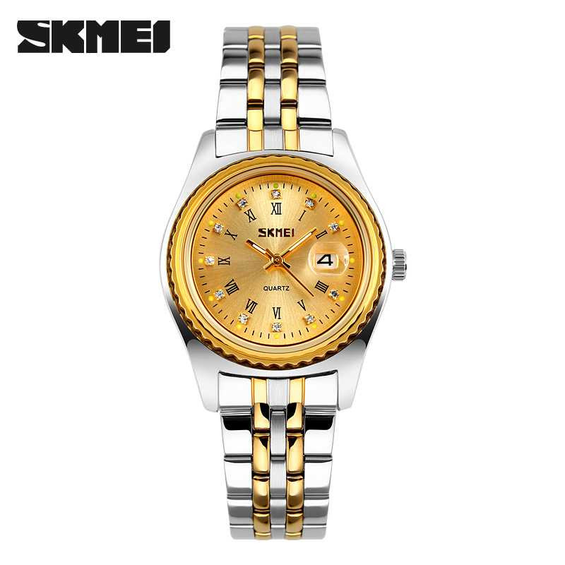 Jam Tangan Wanita SKMEI Casio Women Fashion Original 9098CS