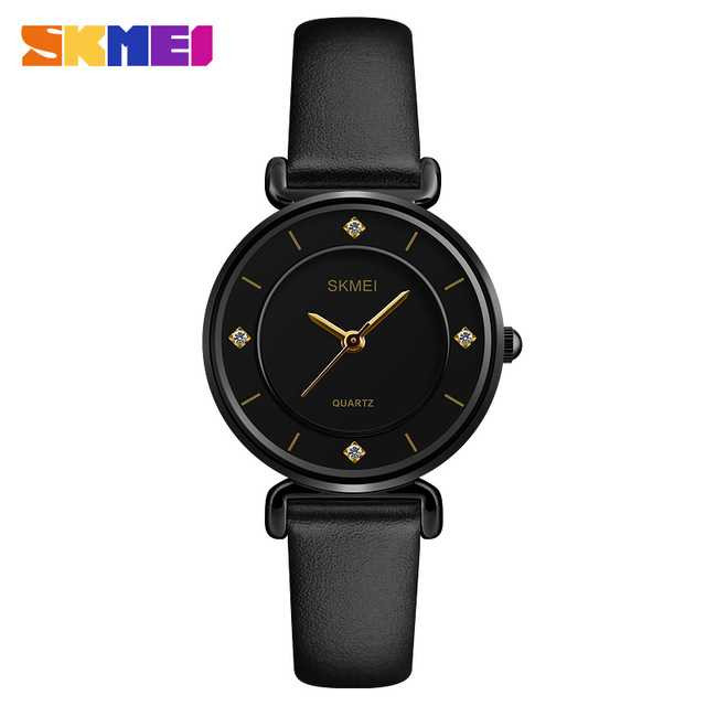 Jam Tangan Wanita SKMEI Casual Ladies Leather Strap Original 1330