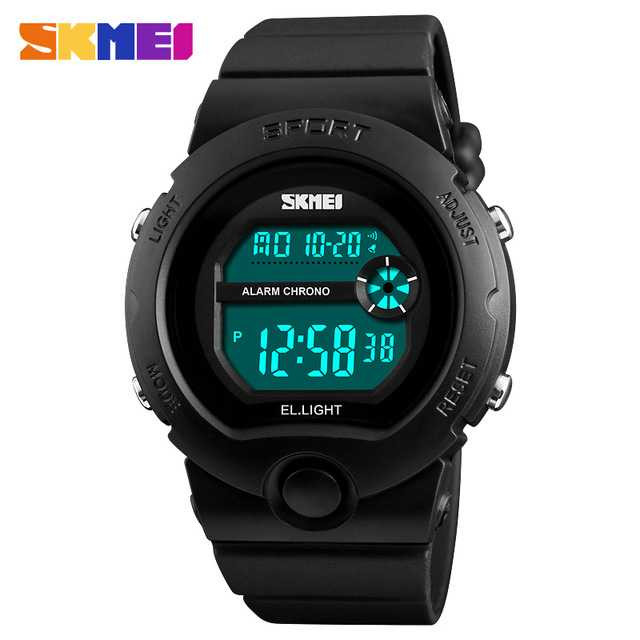 Jam Tangan Wanita SKMEI Digital Casual Sport LED Original DG1334