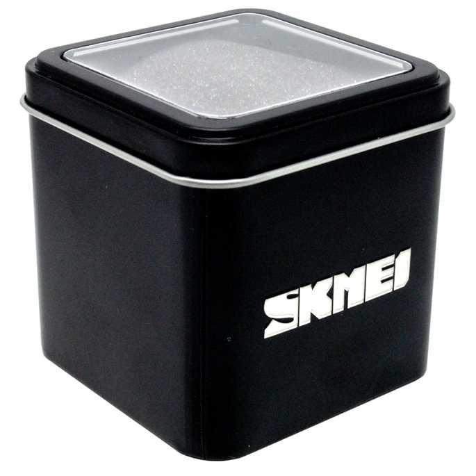 Kotak Jam Tangan SKMEI Kemasan Box Metal Original